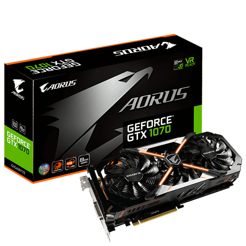 AORUS GeForce® GTX 1070 8G